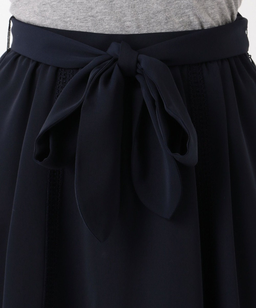 TOCCA 【洗える!】FLOWER HOTEL スカート ネイビー系