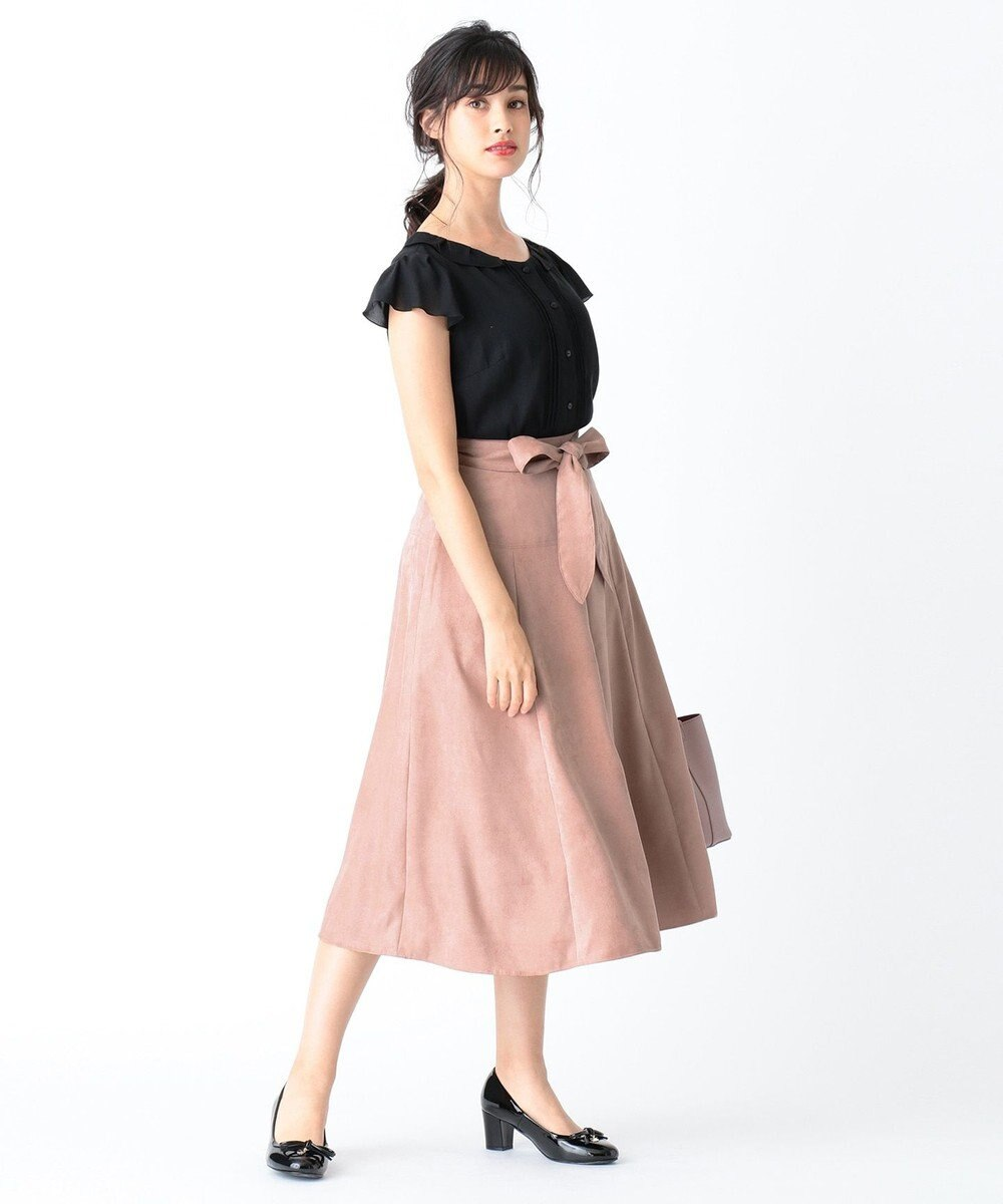 TOCCA 【洗える!】ENGLAND スカート ピンク系