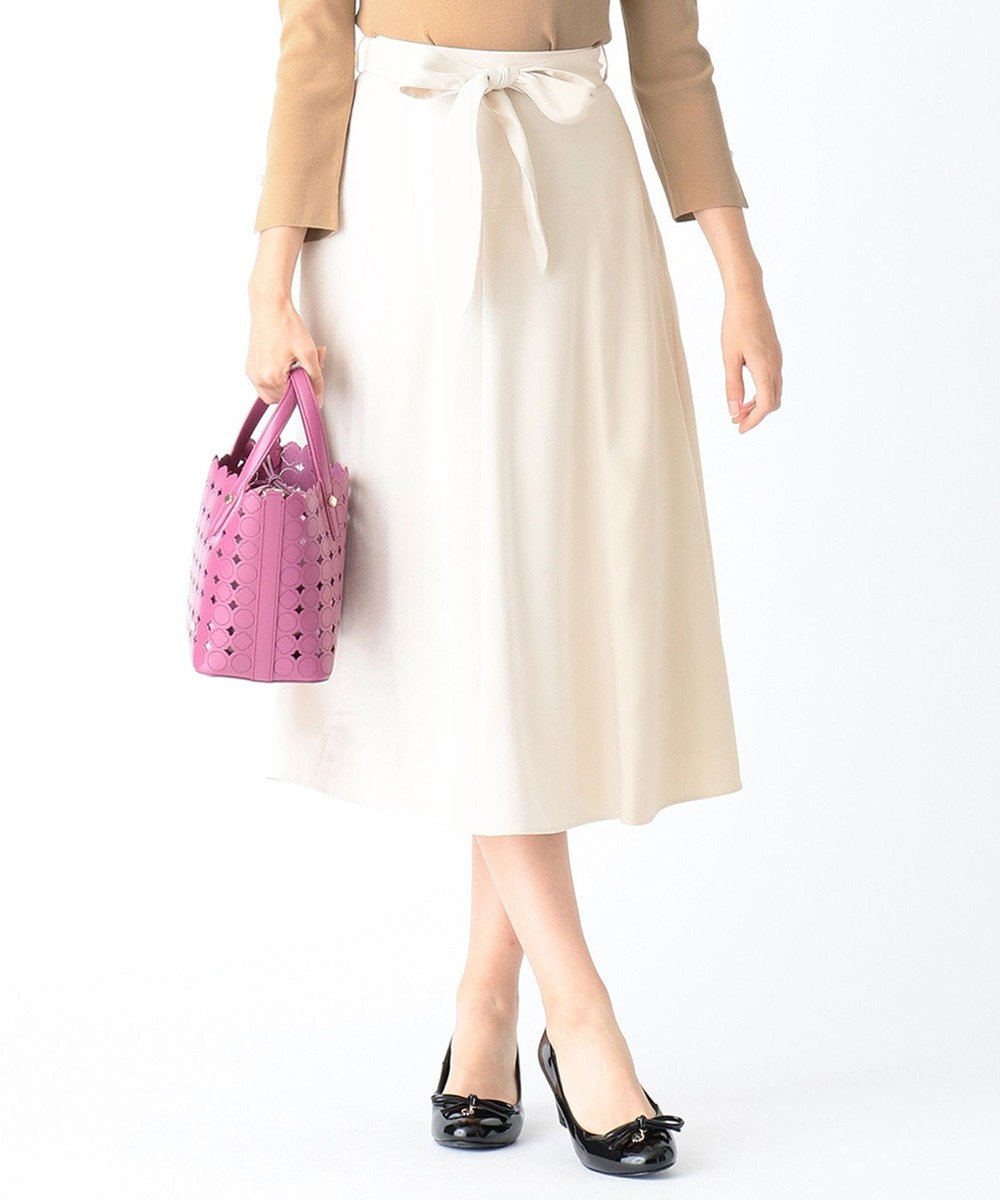 TOCCA 【洗える!】ENGLAND スカート アイボリー系