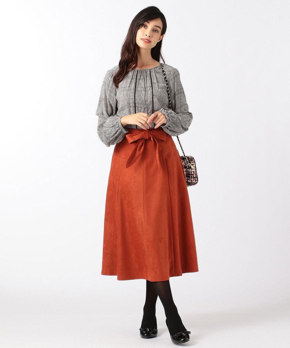 TOCCA 【洗える!】ENGLAND スカート オレンジ系