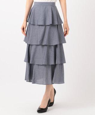TOCCA 【CAPSULE COLLECTION】AVIS スカート ネイビー系