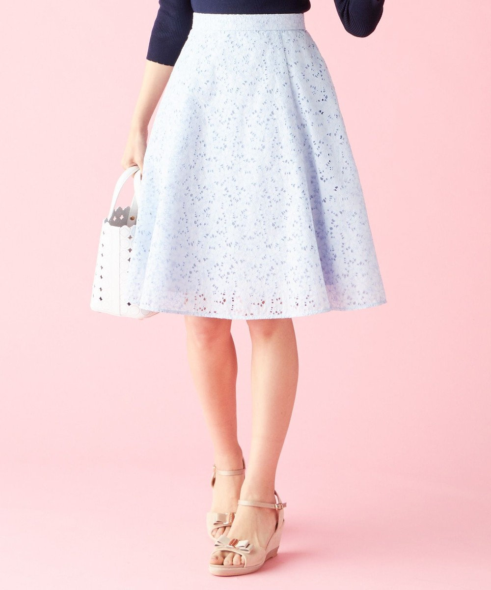 TOCCA 【SPRING WALTZ】FLOWER WOMAN スカート スカイブルー系7