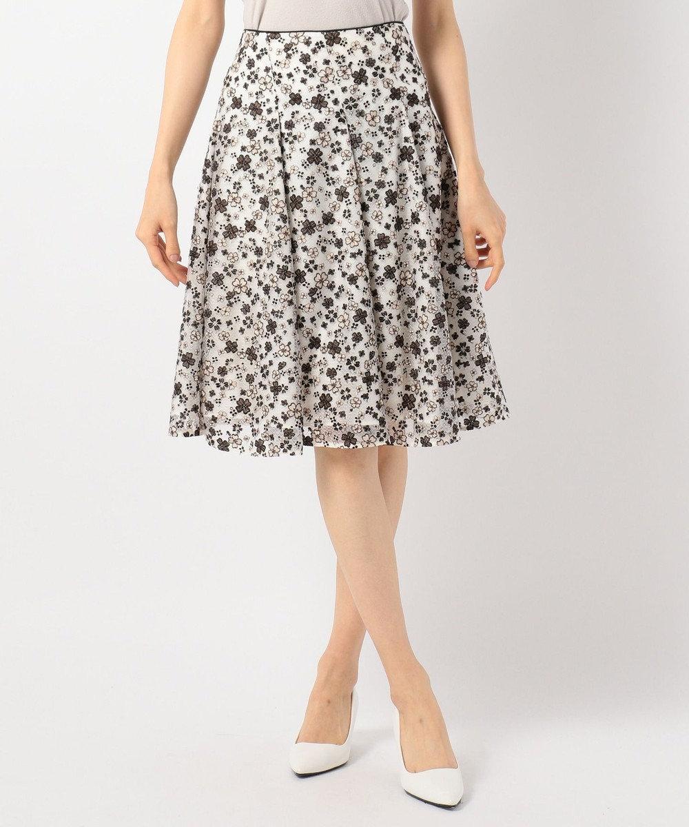 TOCCA GYPSY DEEP ROSE スカート アイボリー系7