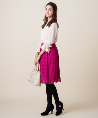 TOCCA 【WEB限定カラー有】DICE スカート オールドローズ系7