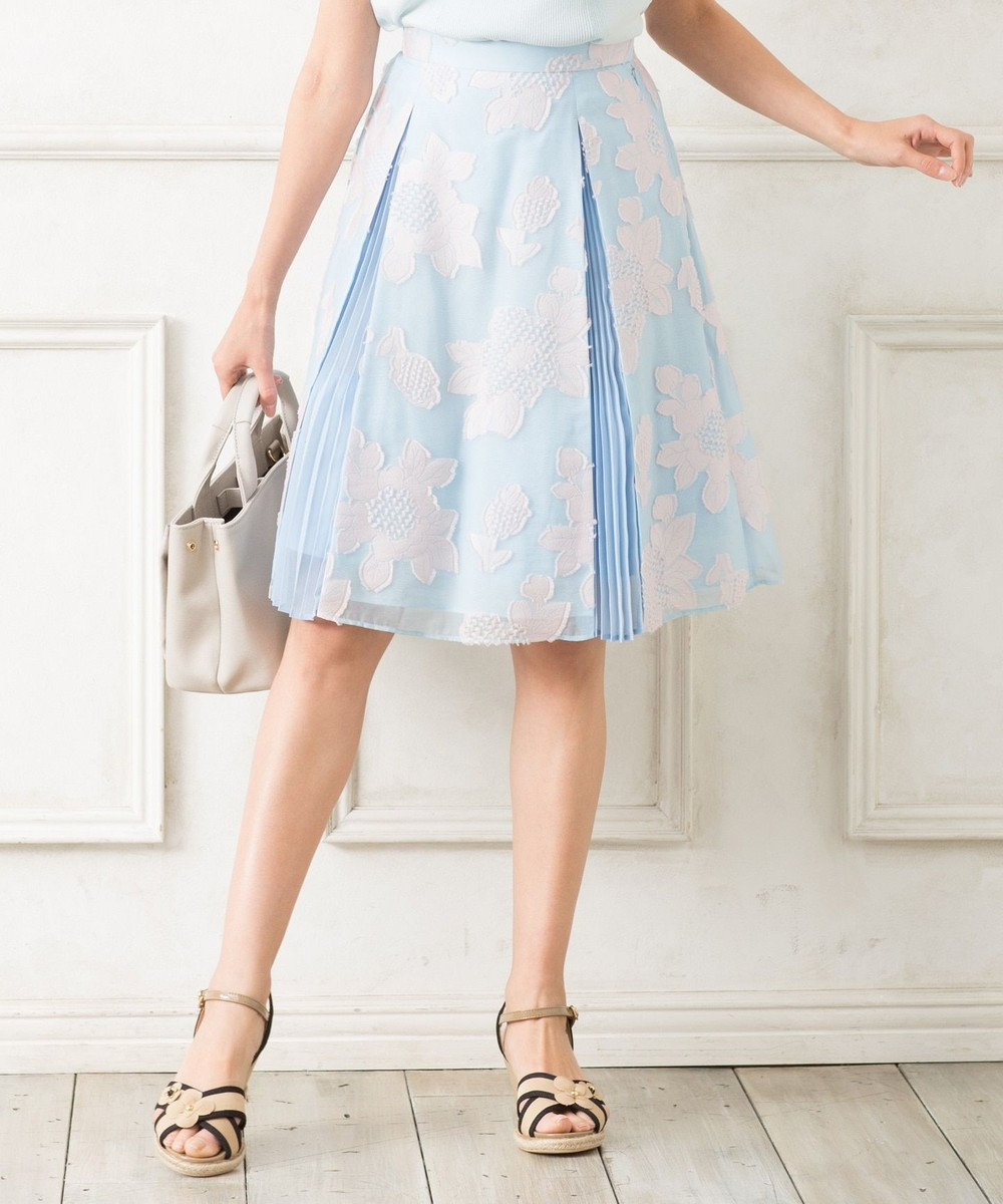 TOCCA FRAMBOYAN スカート スカイブルー系