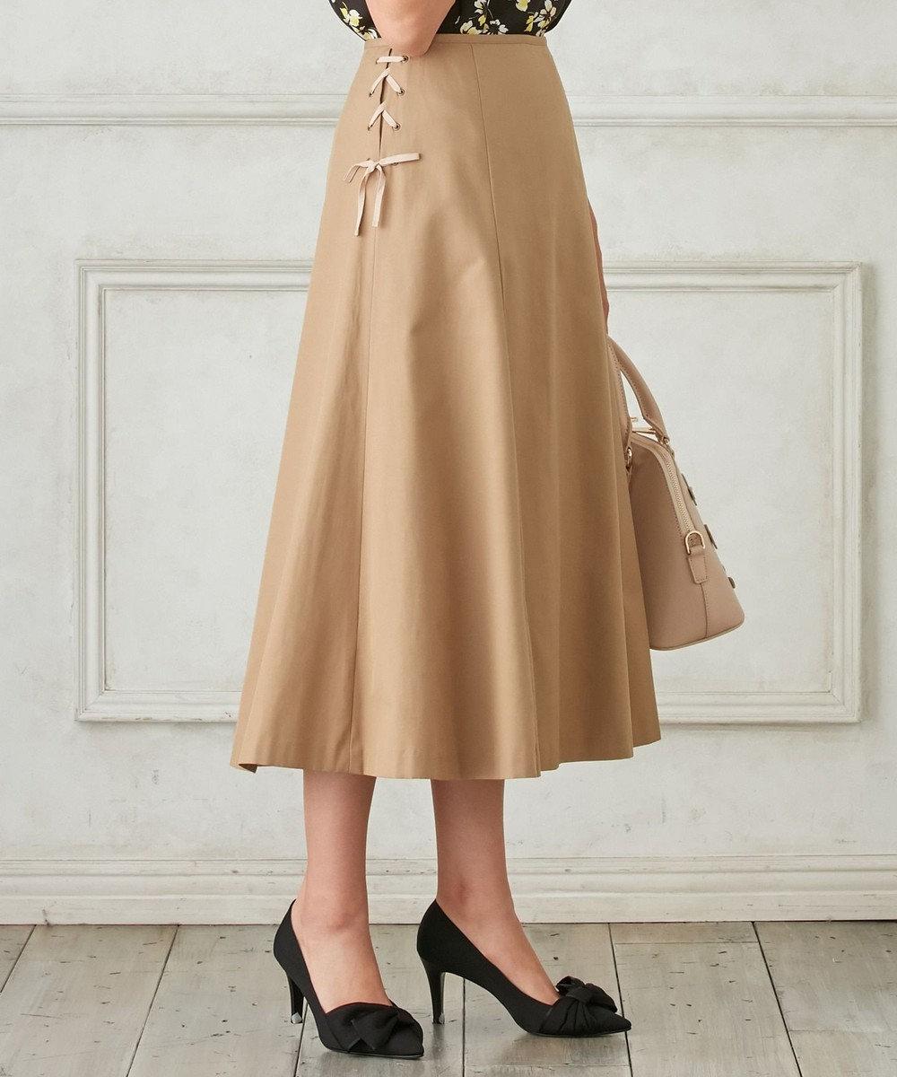 TOCCA 【洗える!】BELL スカート ベージュ系