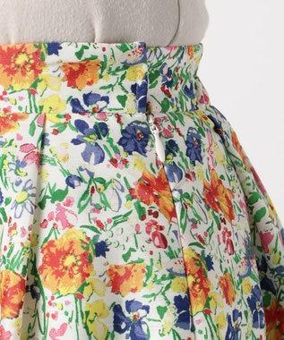 TOCCA 【洗える!】BLOOMING FLOWER スカート アイボリー系5