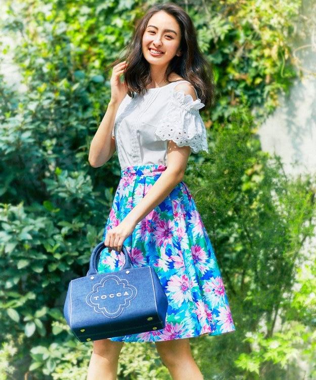 TOCCA 【洗える!】BLOOMING FLOWER スカート
