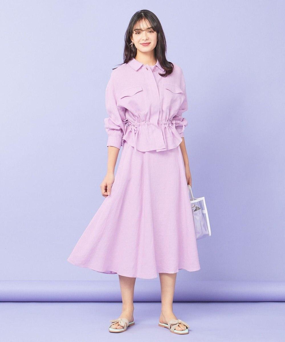 TOCCA 【TOCCA LAVENDER】Linen スカート ライラック系
