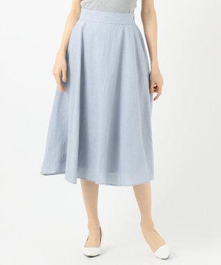 TOCCA 【TOCCA LAVENDER】Linen スカート サックスブルー系