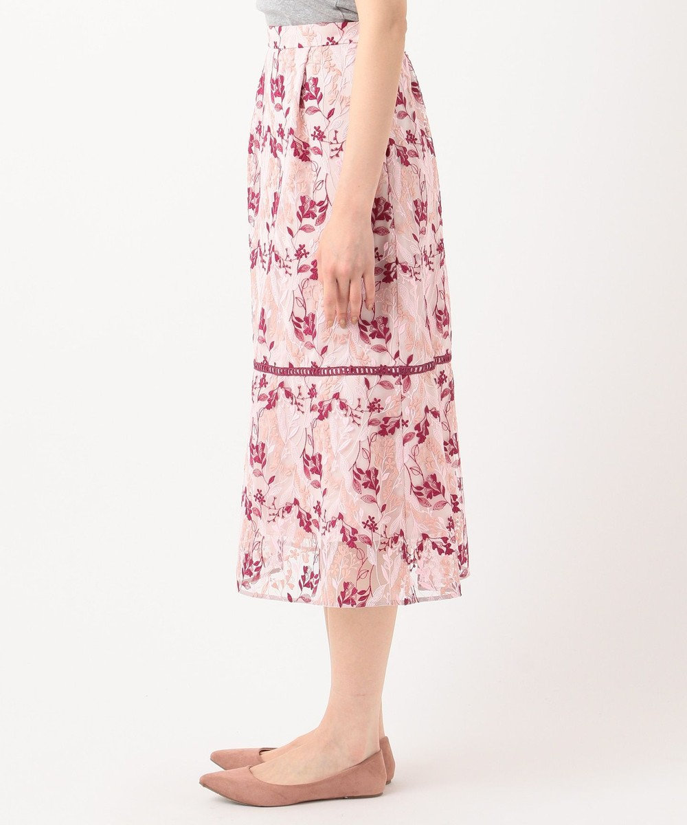 TOCCA 【TOCCA LAVENDER】Wavy Embroidery スカート ピンク系7