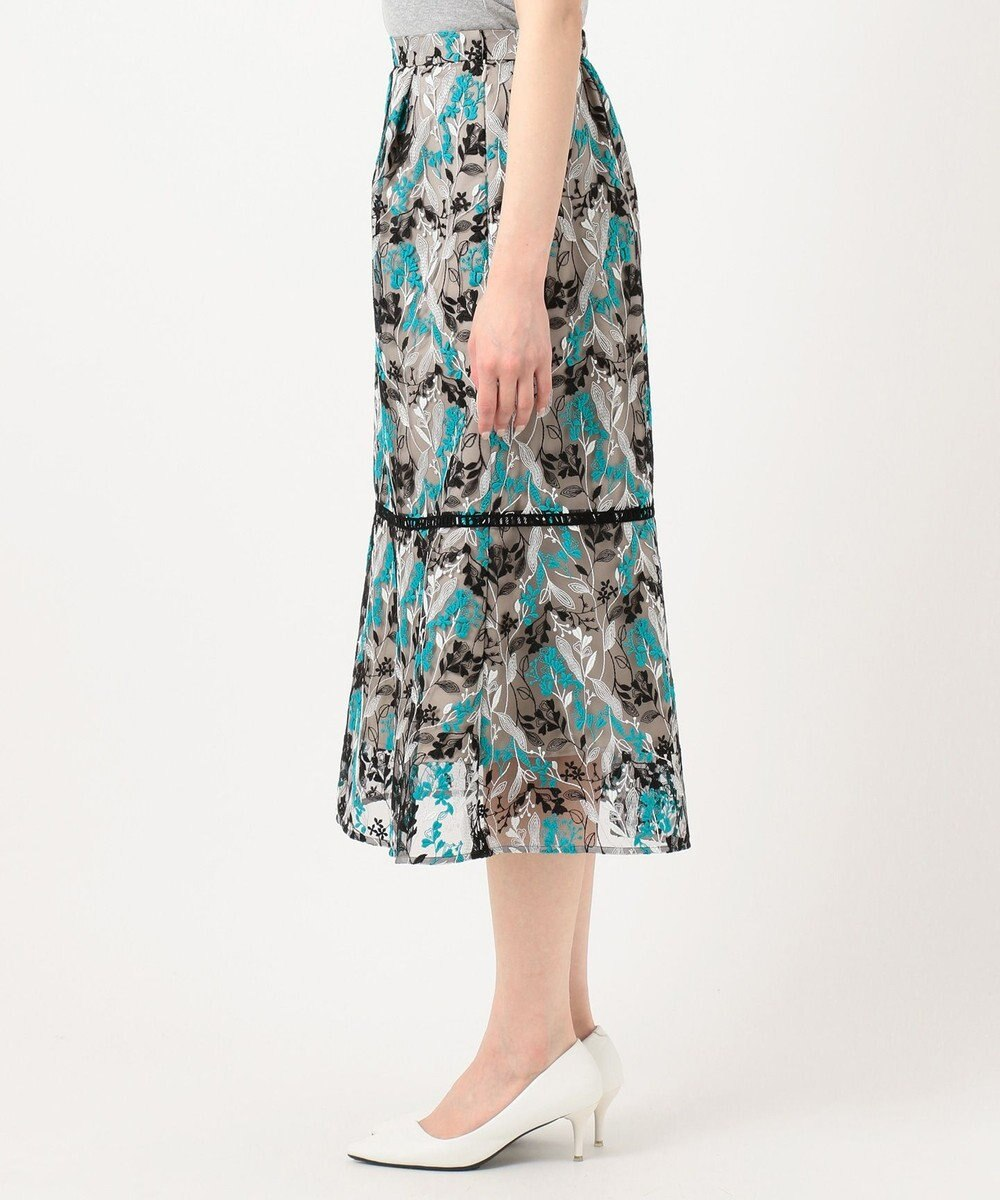 TOCCA 【TOCCA LAVENDER】Wavy Embroidery スカート ブラック系7