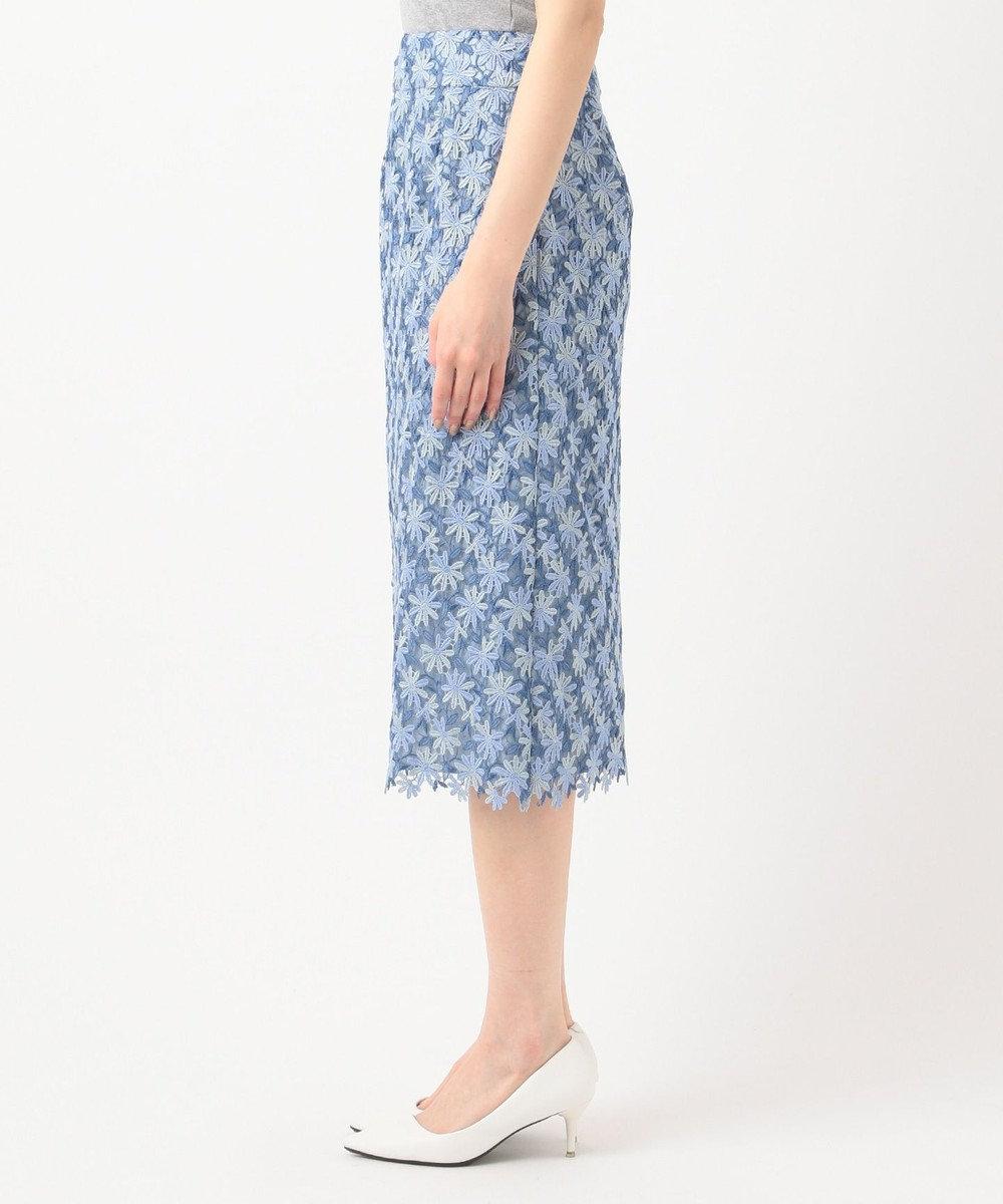 TOCCA 【TOCCA LAVENDER】Pastel Chemical Lace スカート サックスブルー系7