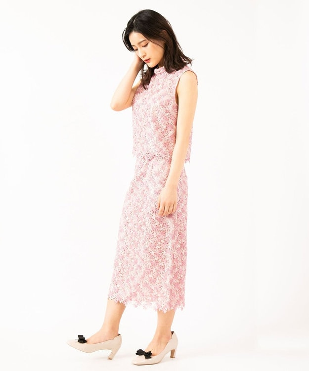 TOCCA 【TOCCA LAVENDER】Pastel Chemical Lace スカート