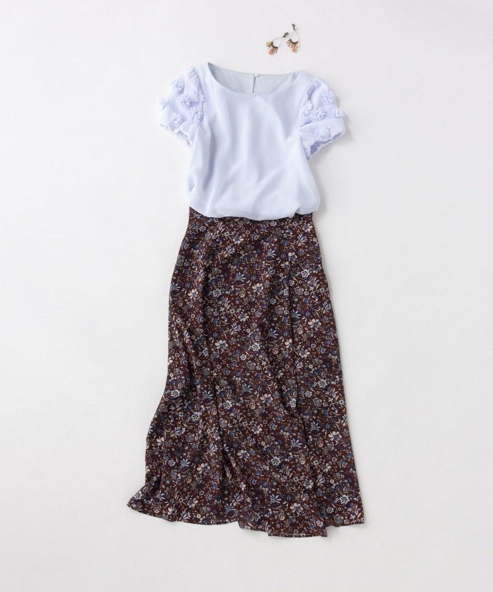 TOCCA 【TOCCA LAVENDER】Exotic Print スカート ブラウン系5