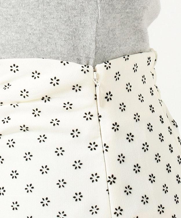 TOCCA 【TOCCA LAVENDER】【SETUP】Floral Flocky スカート