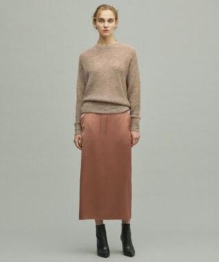 uncrave ビンテージサテン スカート オレンジ系