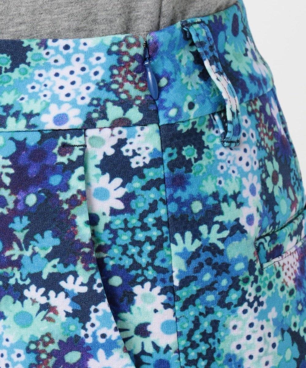 23区GOLF 【WOMEN】【ストレッチ】スプリングフラワー柄 スカート サックスブルー系5