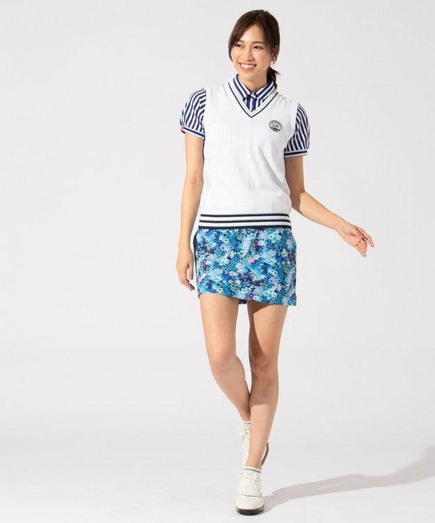 23区GOLF 【WOMEN】【ストレッチ】スプリングフラワー柄 スカート