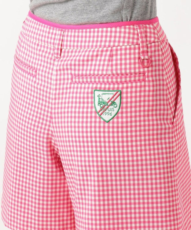 23区GOLF 【WOMEN】【ストレッチ】ストレッチギンガムチェック スカート