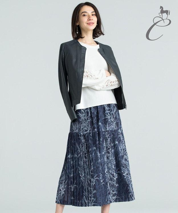 自由区 【Class Lounge】SECRET FLOWER スカート