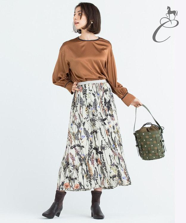 自由区 【Class Lounge】LUXEMBOURG プリント スカート