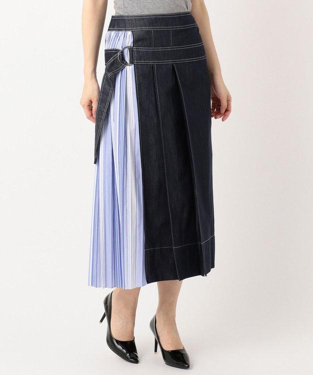 自由区 【Class Lounge】COTTON ACETATE DENIM スカート