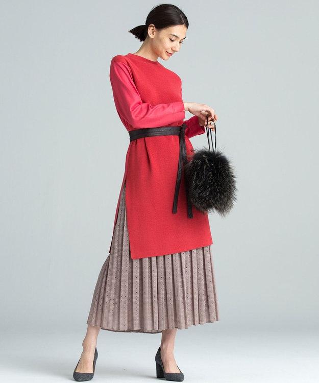 自由区 【Class Lounge】EMB プリーツスカート