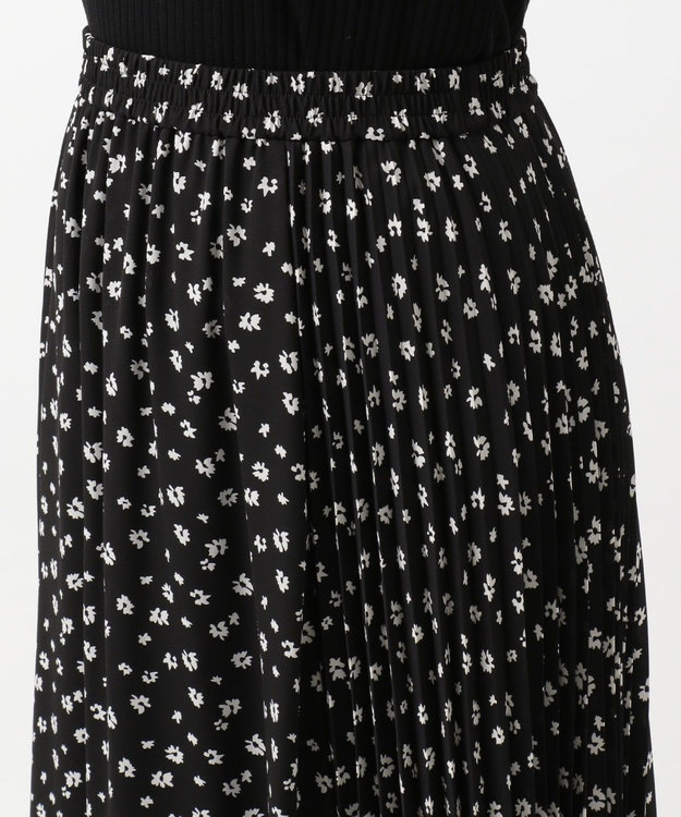 組曲 L 【洗える】マーガレットドットプリーツ プリーツスカート