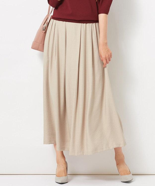 自由区 L 【洗える】2WAYカラー スカート