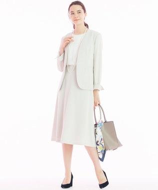 自由区 【洗える】PREP TWILL スカート ベージュ系
