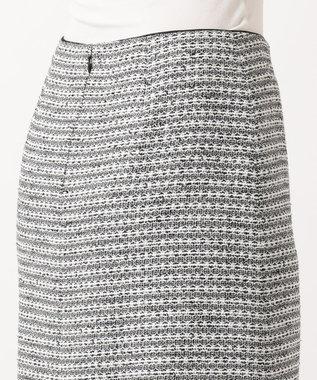 自由区 【マガジン掲載】カラミツイード セミタイトスカート(検索番号A24) モノトーン