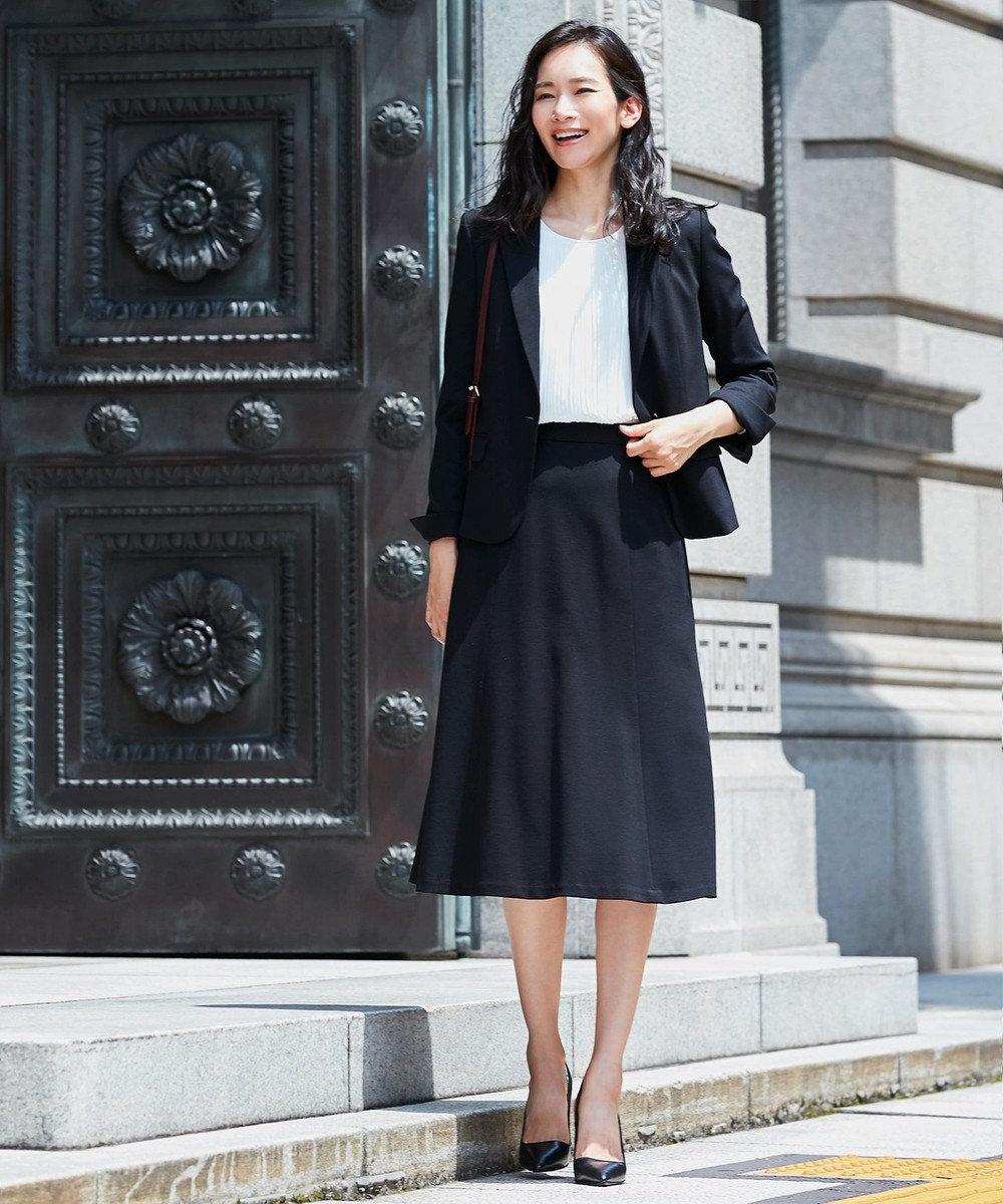 自由区 【Sサイズ有】360°FREE ウォッシャブル スカート ブラック系