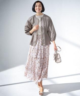 【Sサイズ有】スモールフラワープリント スカート