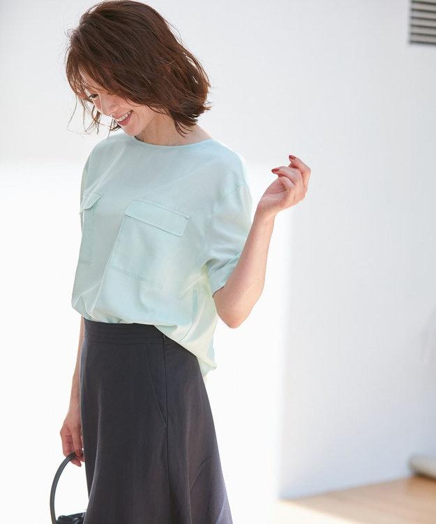 自由区 L 【洗える】LINEN OX スカート