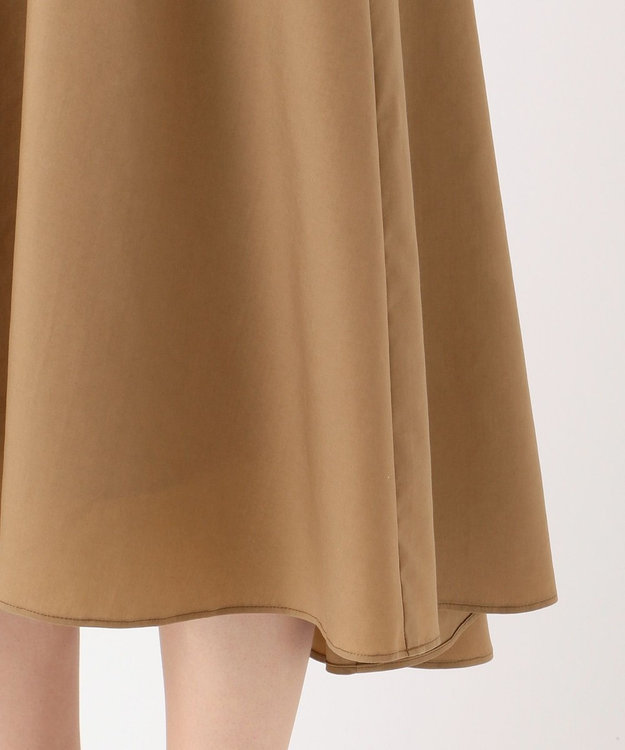 自由区 【WEB限定】STRETCH POPLIN スカート