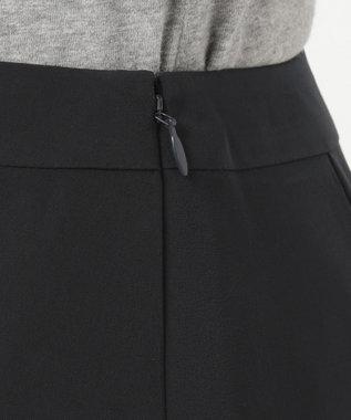自由区 L 【洗える】BRICK 2WAY スカート ネイビー系