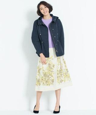 自由区 【洗える】SCARF PRINT スカート ライトイエロー系6