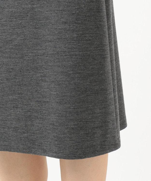 自由区 【マガジン掲載】ウォッシャブルウール セミフレアースカート(検索番号N24)