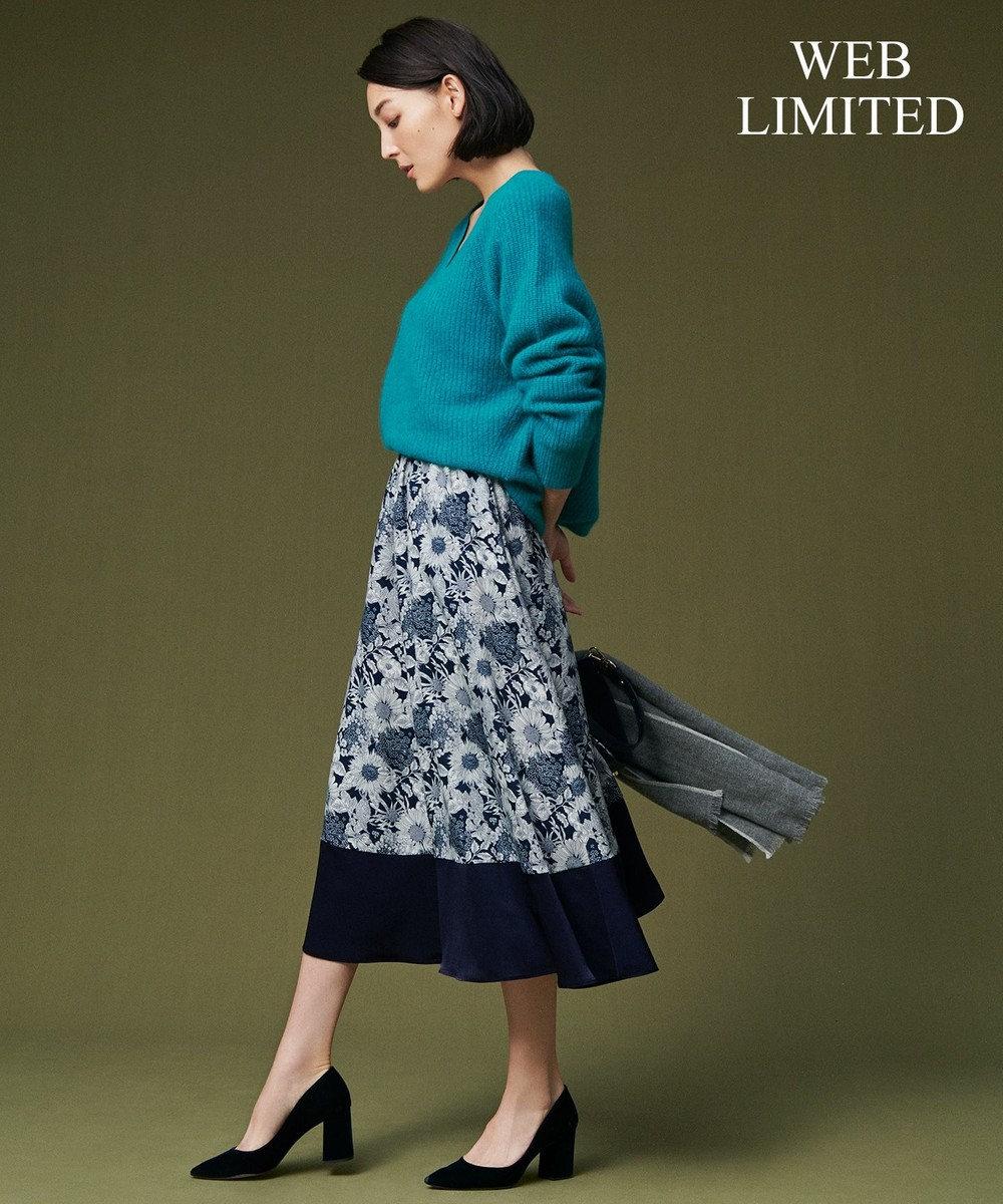 自由区 【10周年WEB限定】LIBERTY スカート ネイビー系