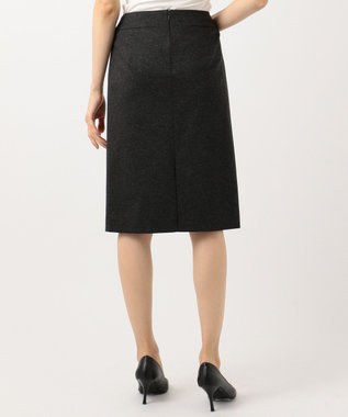 自由区 【マガジン掲載】SARTI ウールジャージー タイトスカート(検索番号S24) グレー