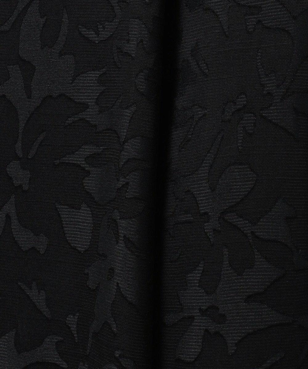 自由区 L 【マガジン掲載】フラワーオパール リバーシブルスカート(検索番号S29) ブラック系
