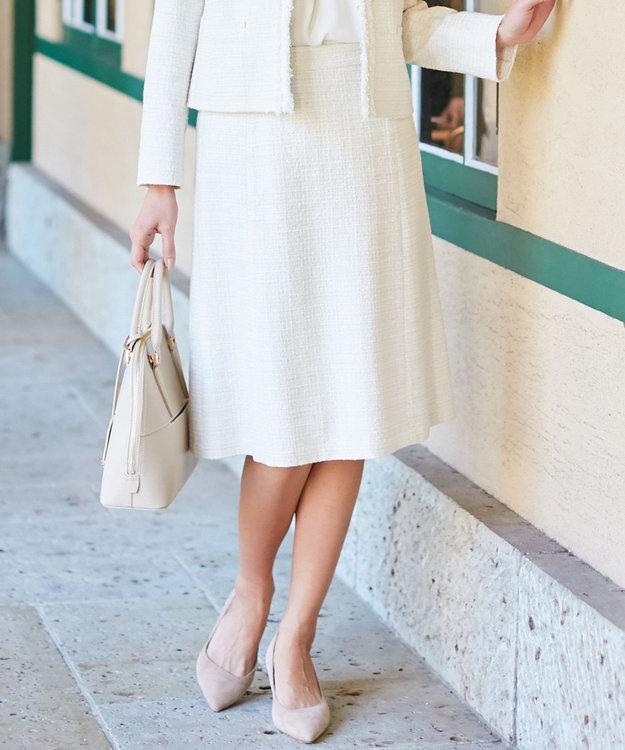 23区 S 【セットアップ対応】ブライトシャインツイード スカート