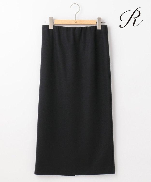 23区 S 【R(アール)】FINE WOOL JERSEY ペンシル スカート