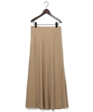 23区 S 【中村アンさん着用】テンセルサテンギャバ フレア スカート(番号2D26) ベージュ系