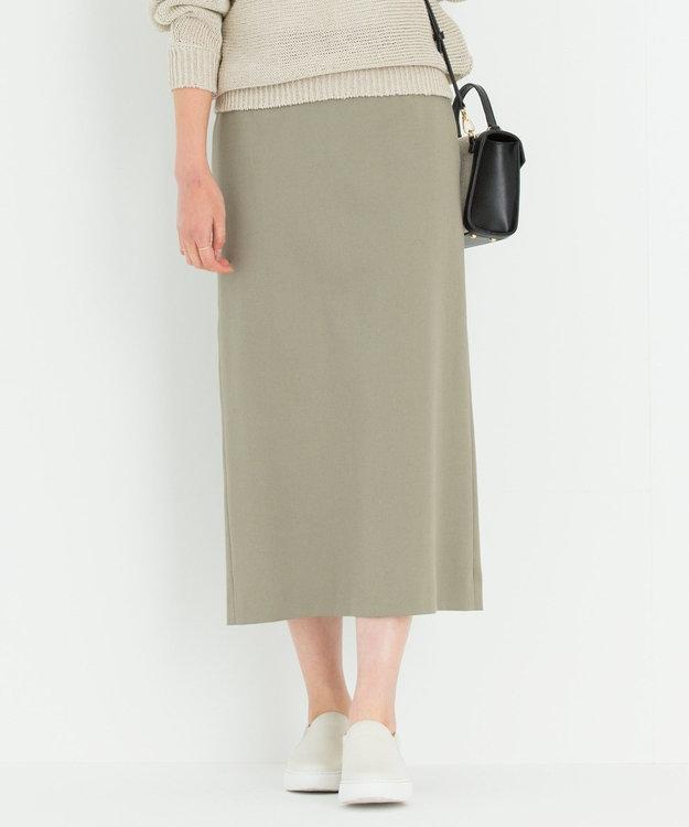 23区 S 【洗える】ドライコットンダブルクロス スカート