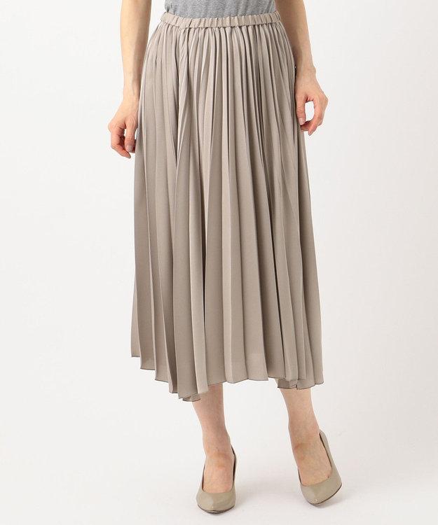 23区 S 【中村アンさん着用】サテンプリーツ スカート(検索番号D24)