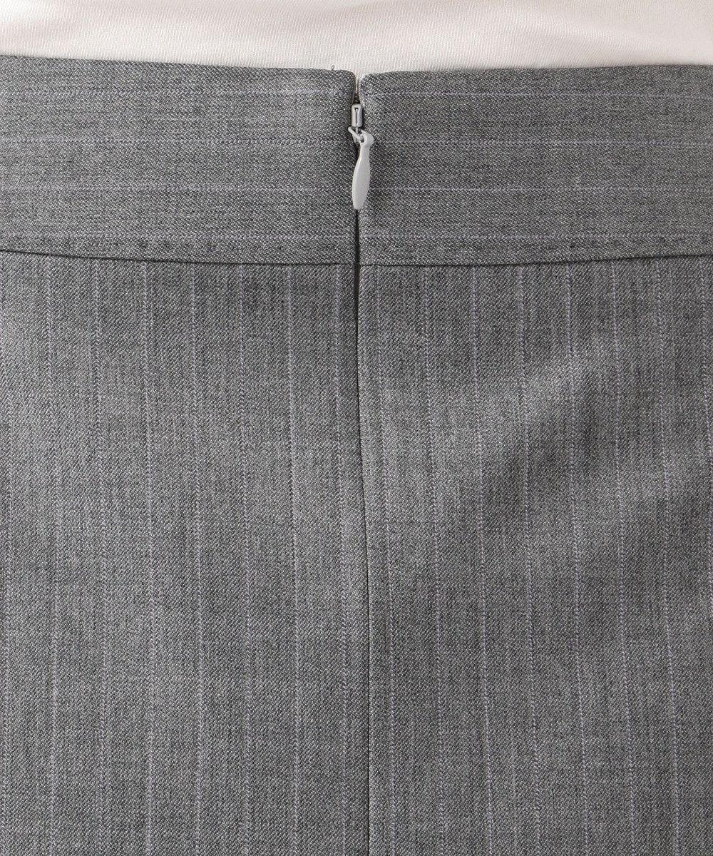 23区 L 【セットアップ対応】ファインネスウール フレア スカート グレー系1