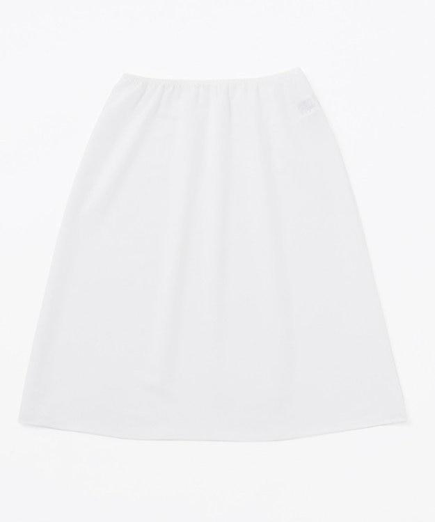 23区 L 【洗える】ストライプ ジョーゼット  プリーツスカート