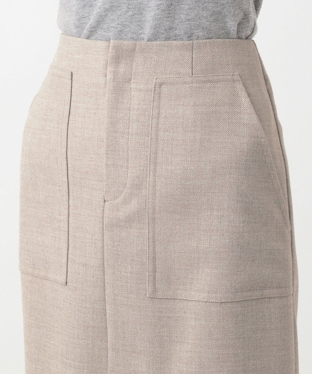 23区 【先行予約】ダブルクロスパッチポケット スカート
